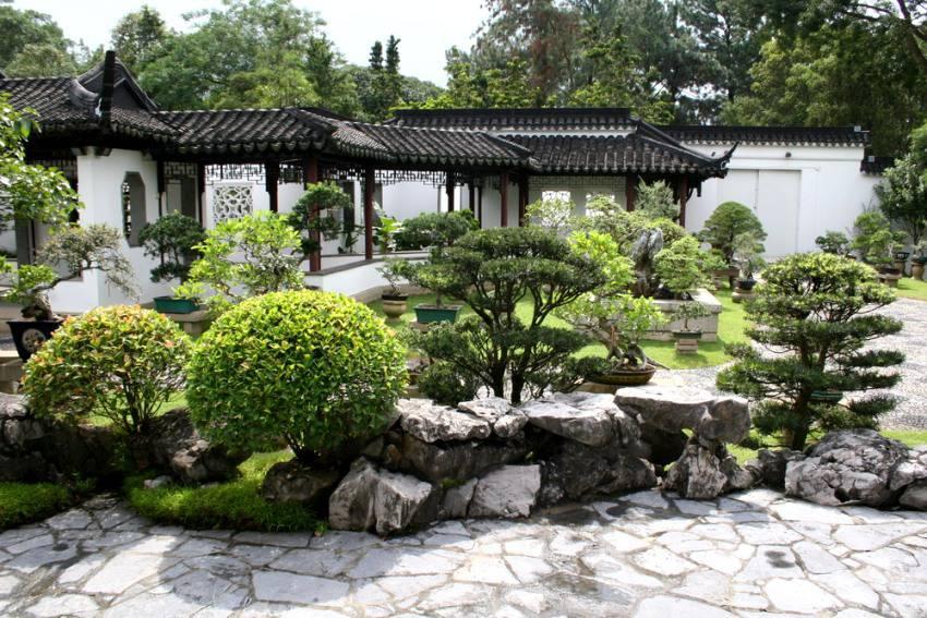 оригинальный сад