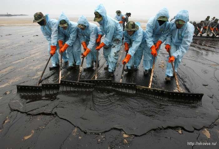 розливы нефти
